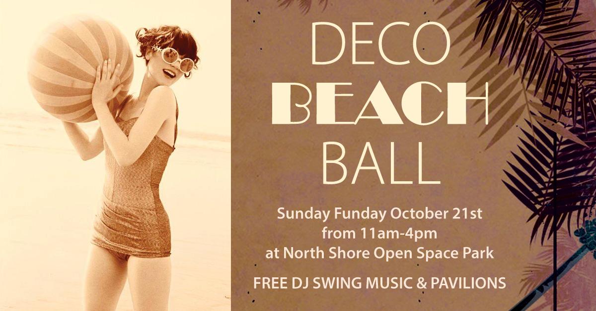 Deco Beach Ball