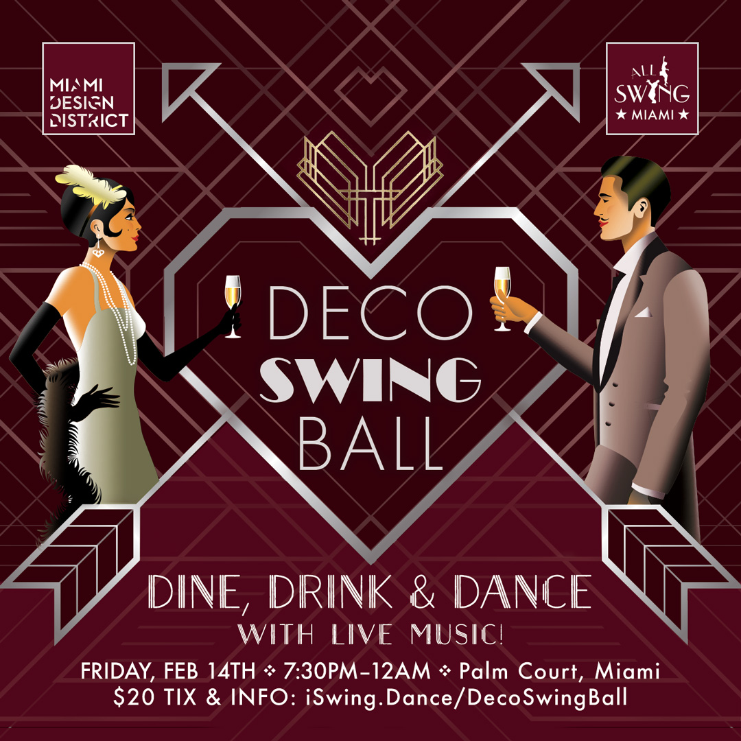 Deco Swing Ball Feb 14 Valentine