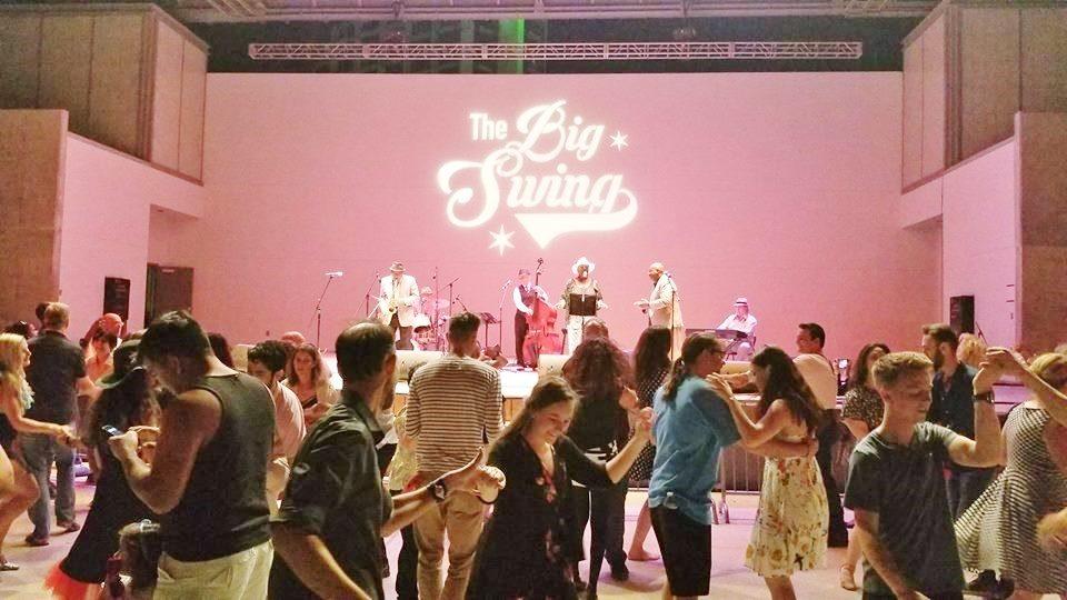 Big Swing 2019 dance floor
