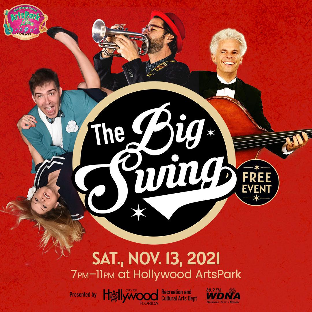 The Big Swing in Hollywood Artspark FL